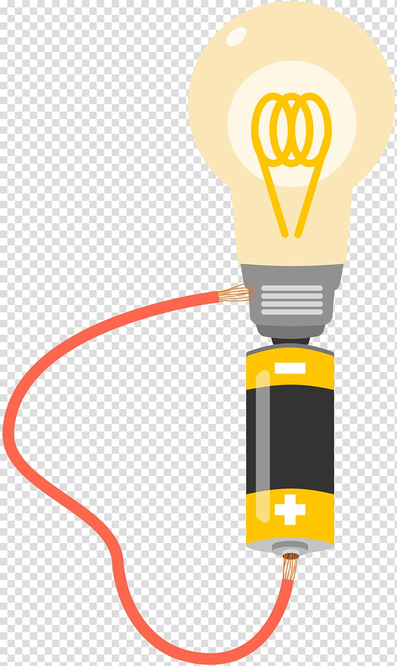 Wires cable incandescent bulb. Electrical clipart light speed