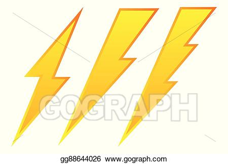 Eps vector set of. Electricity clipart lighting