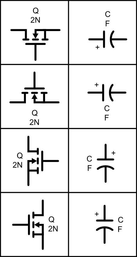 Svg circuit symbol library. Electrical clipart scheme