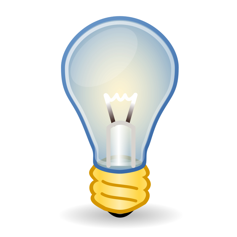 Medium image png . Electrical clipart yellow light bulb