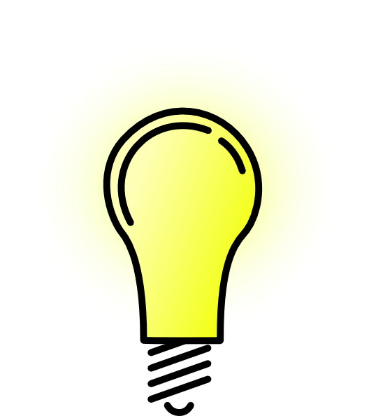 Light idea clip art. Lamp clipart electrical bulb