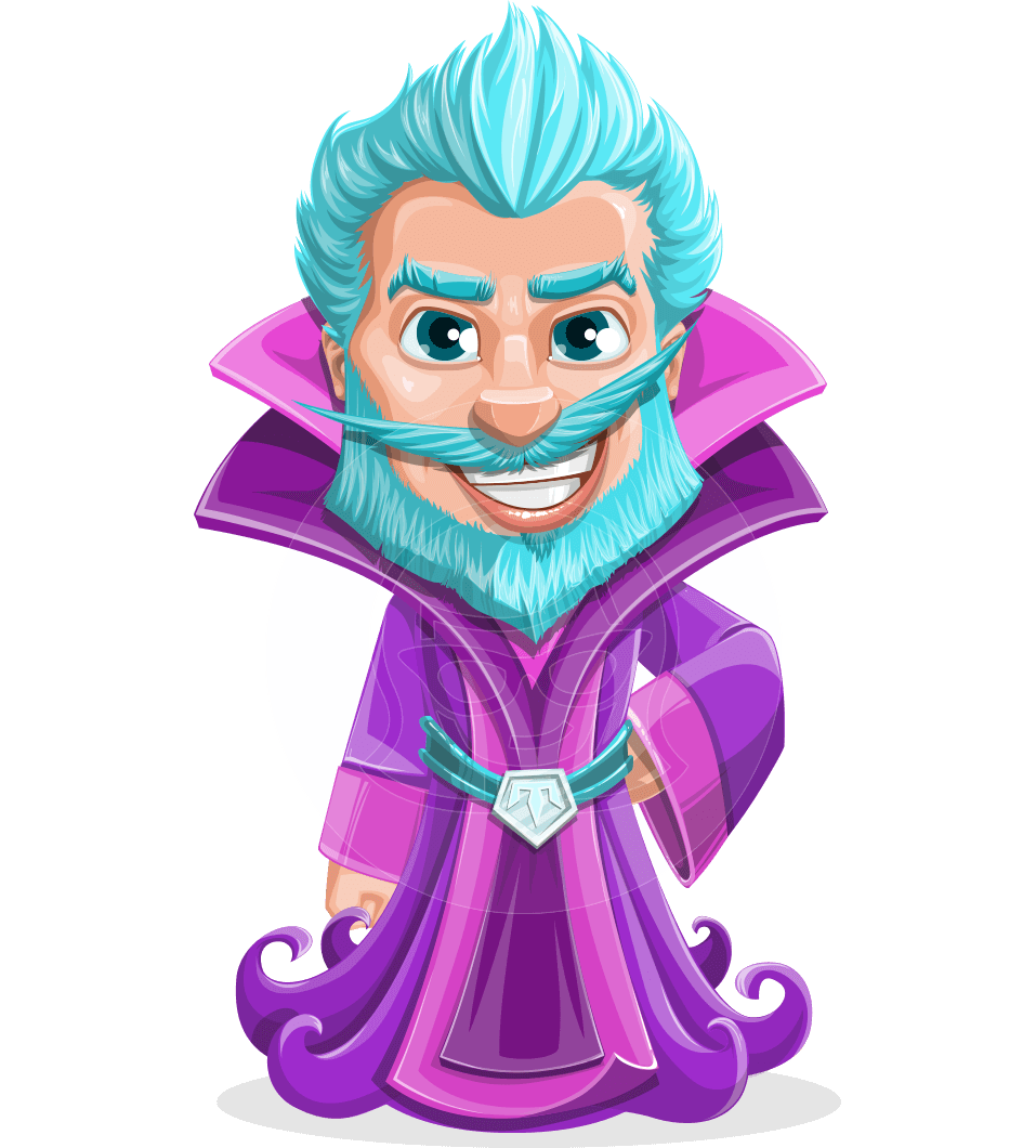 Purple clipart wizard. Osborne the magic virtuoso