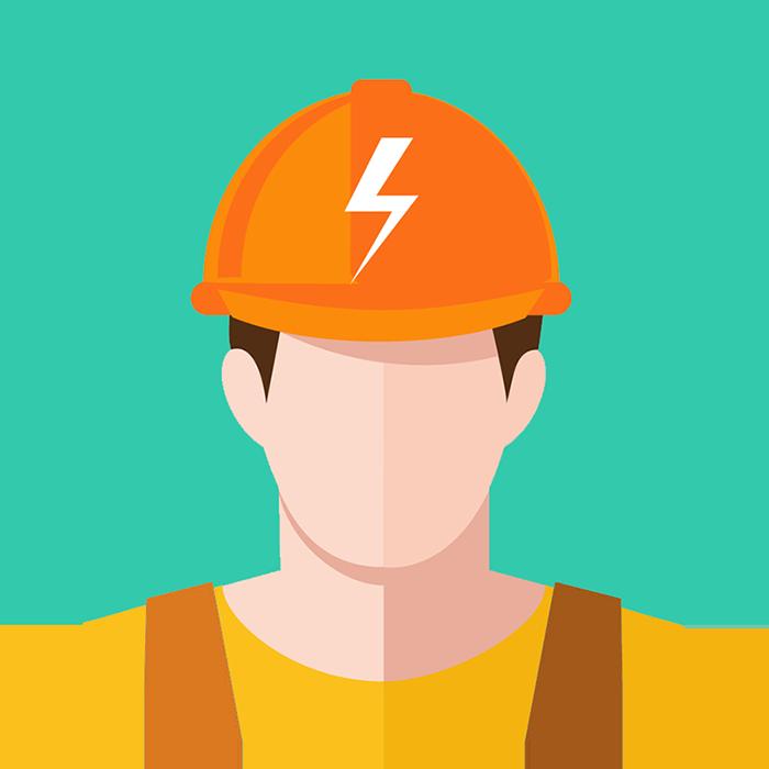 Electrician clipart hard hat worker. Rjune skills pvt ltd