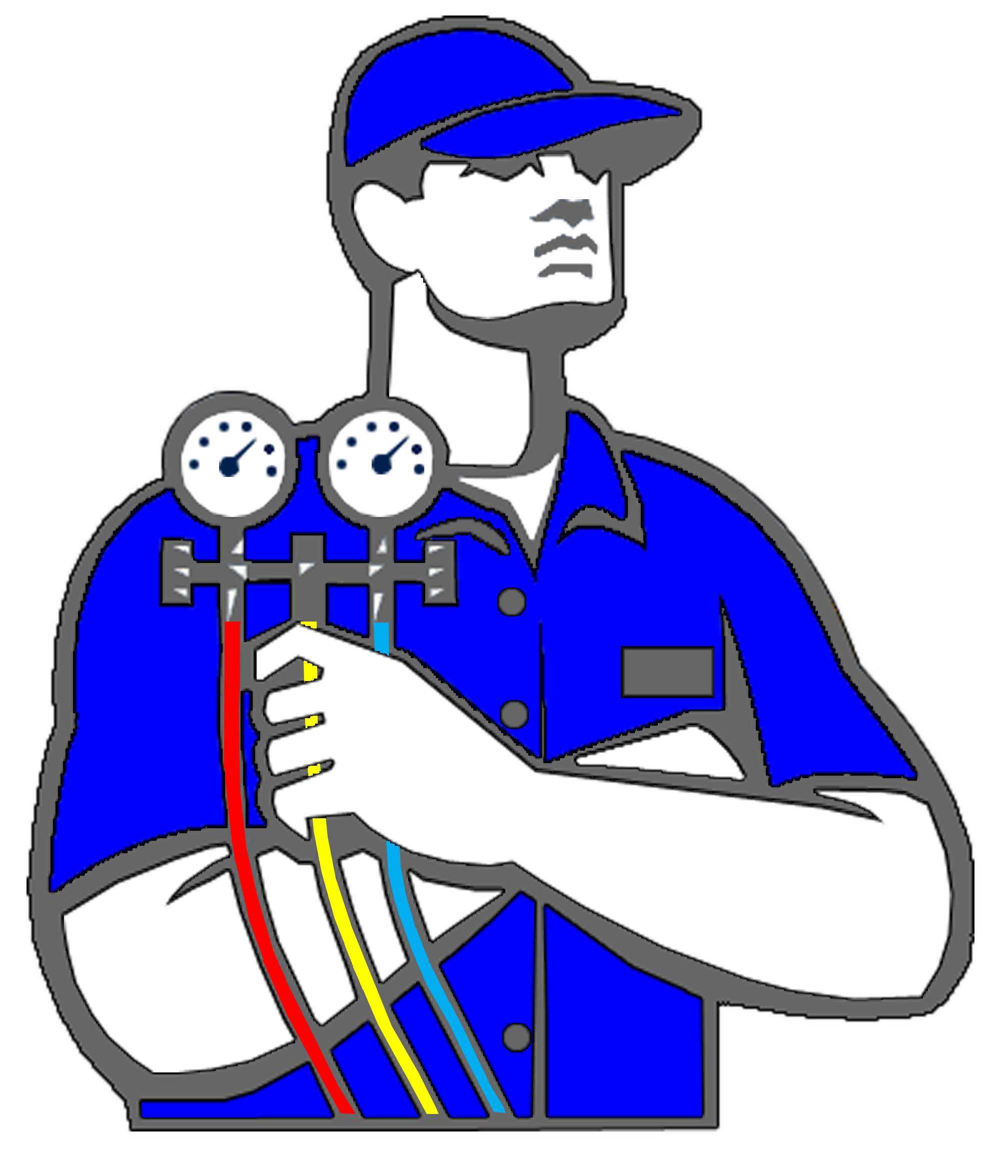 Heat clipart hvac.  collection of technician