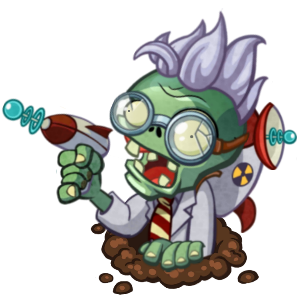Electricity clipart mad scientist. Gadget plants vs zombies