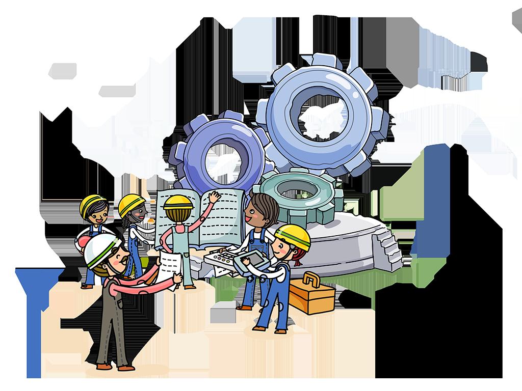 Engineer clipart engineering background. Jobs in uae abu