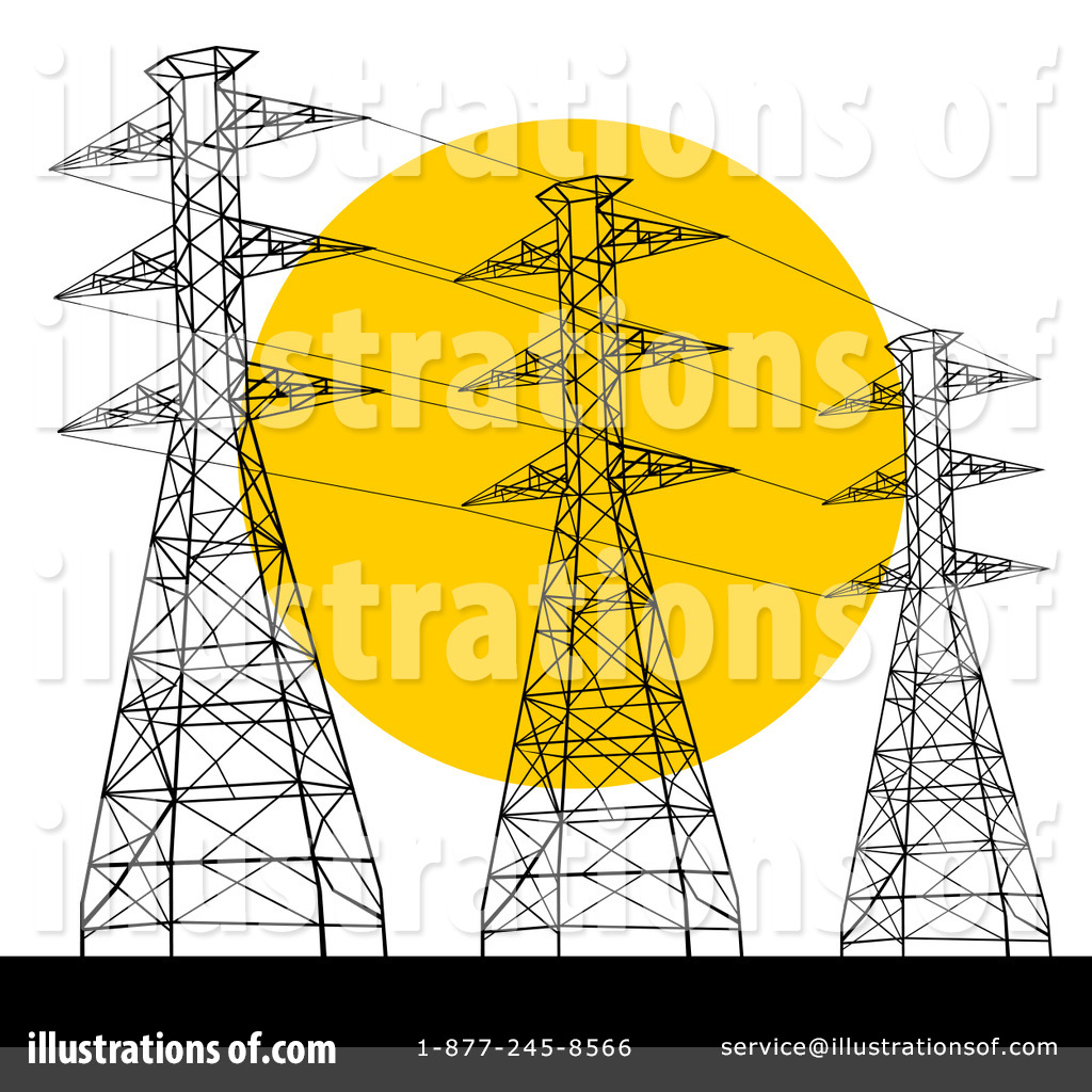 Electricity clipart. Illustration by patrimonio royaltyfree