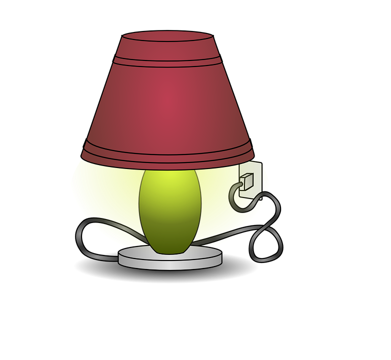 Lamp free on dumielauxepices. Electricity clipart be careful with
