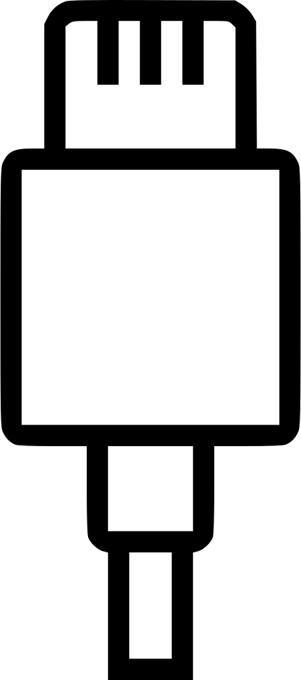 Battery data cable charge. Electricity clipart computer charger