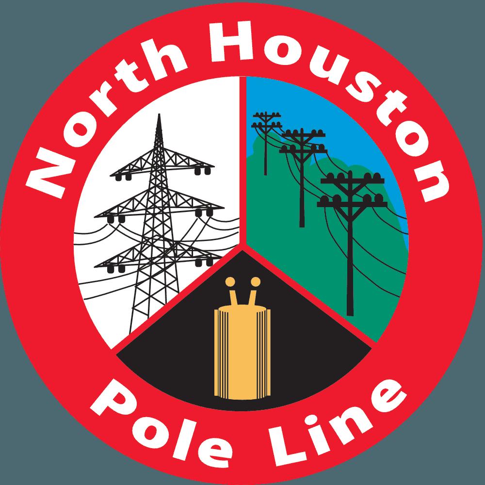 North houston line quanta. Electricity clipart electric pole