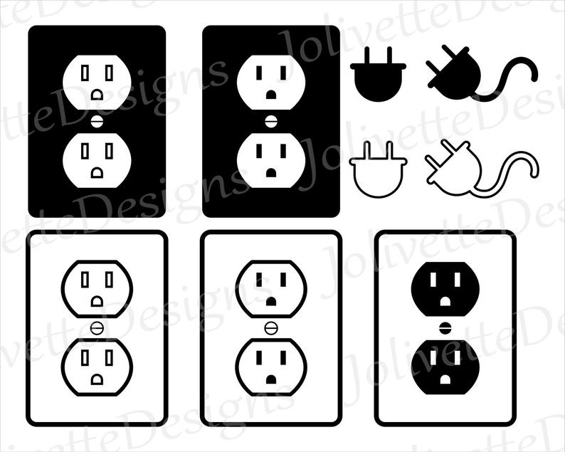 Plug clipart outlet. Electrical electricity ran off