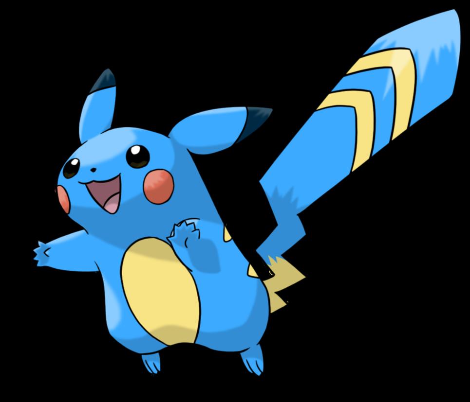Pokemon clipart water clipart. Alola form pikachu electric