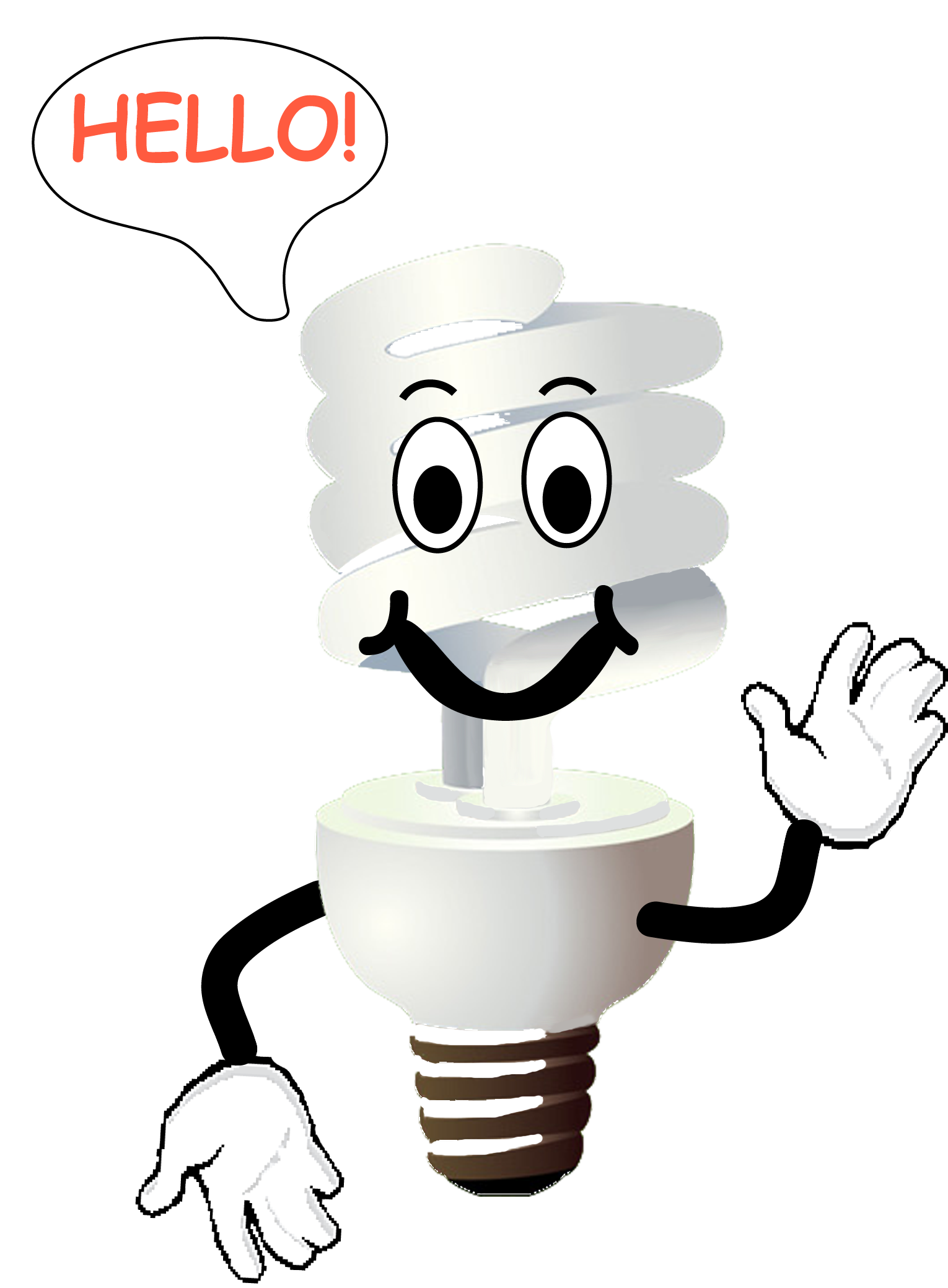 Electricity clipart happy. Save cartoon images on