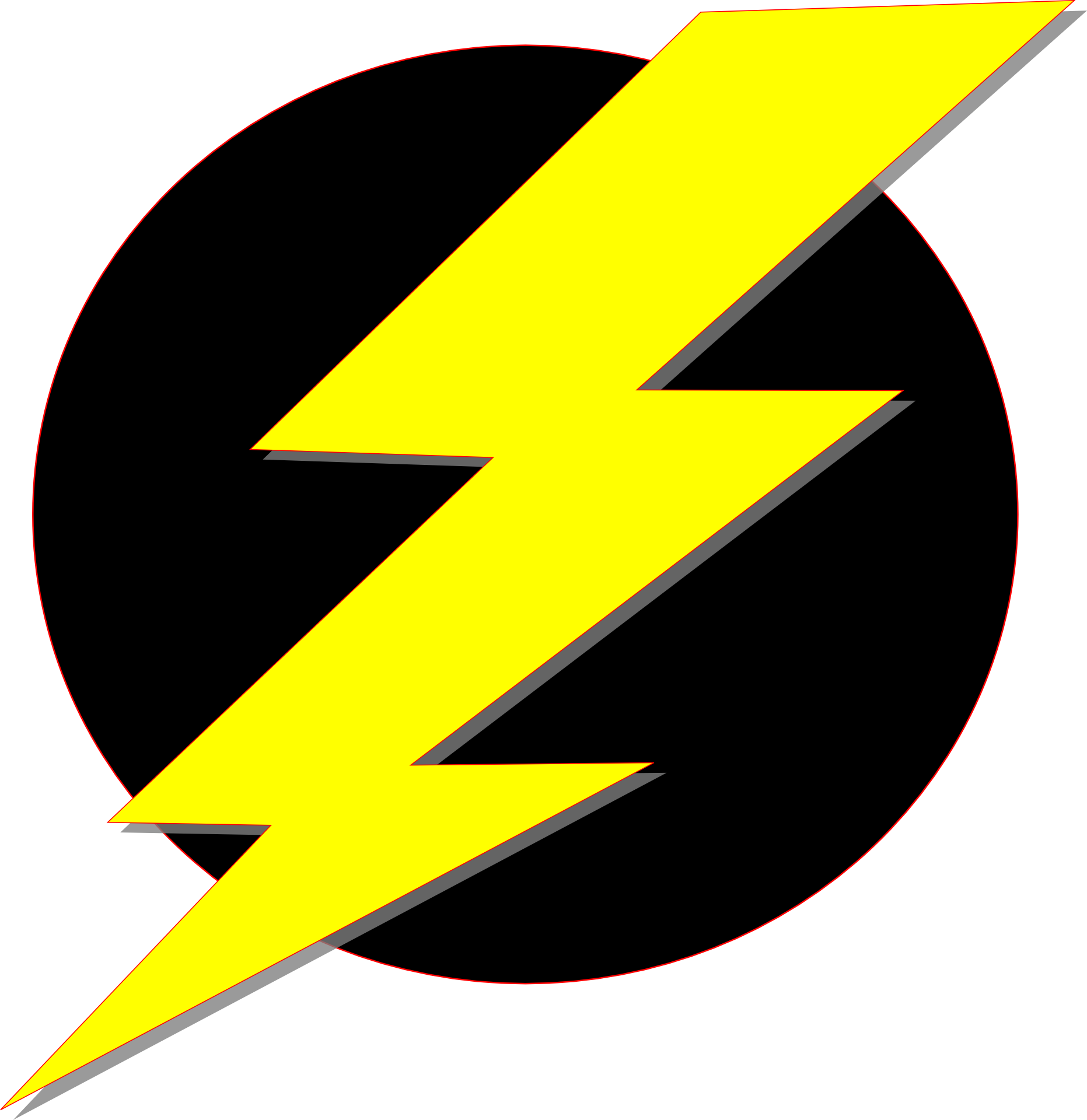 N free image. Electricity clipart lightning flash