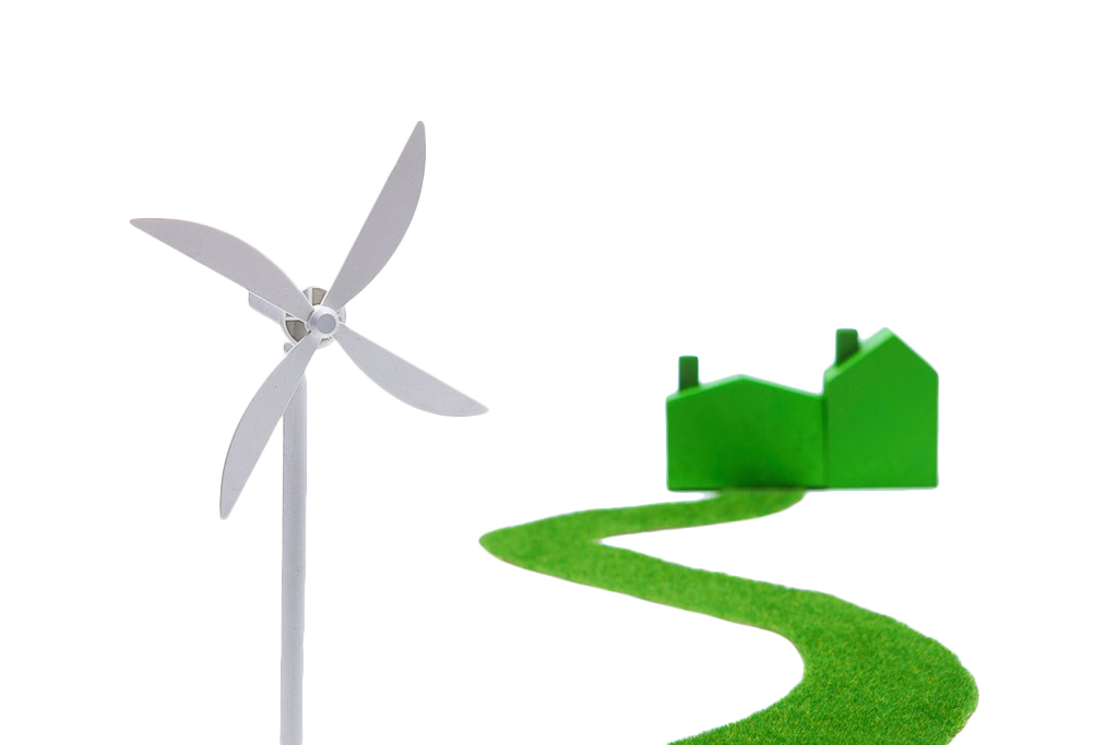 Electricity clipart power house. Wind generation windmill green