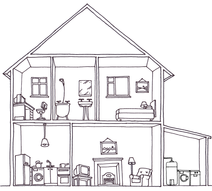 Jersey how to save. Electricity clipart power house