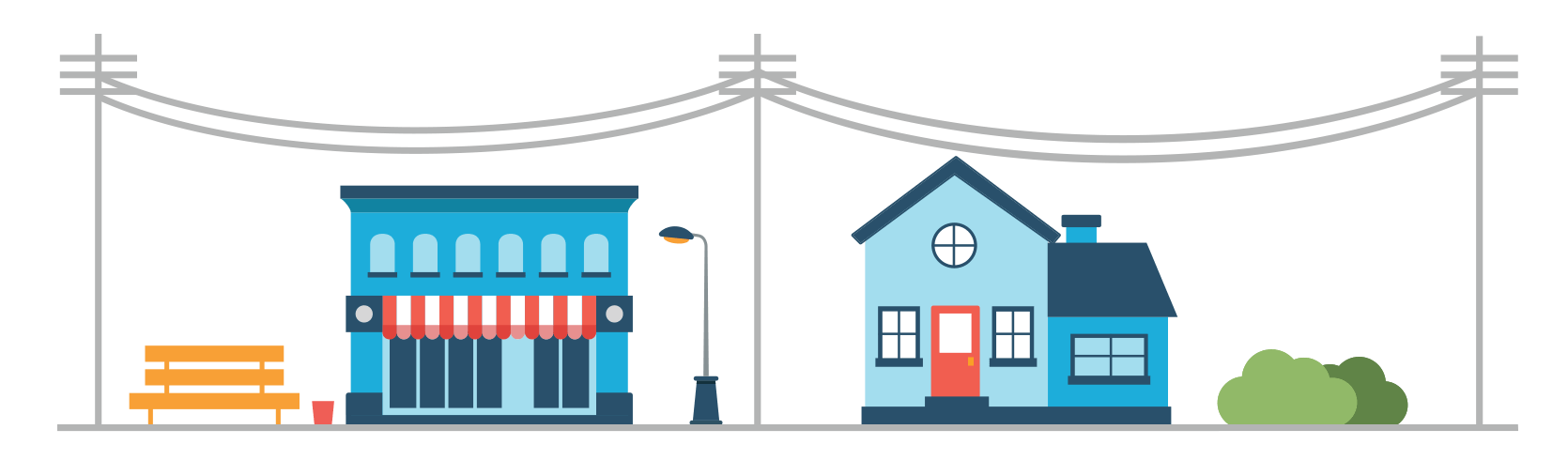 Utiliz home what is. Electricity clipart power house