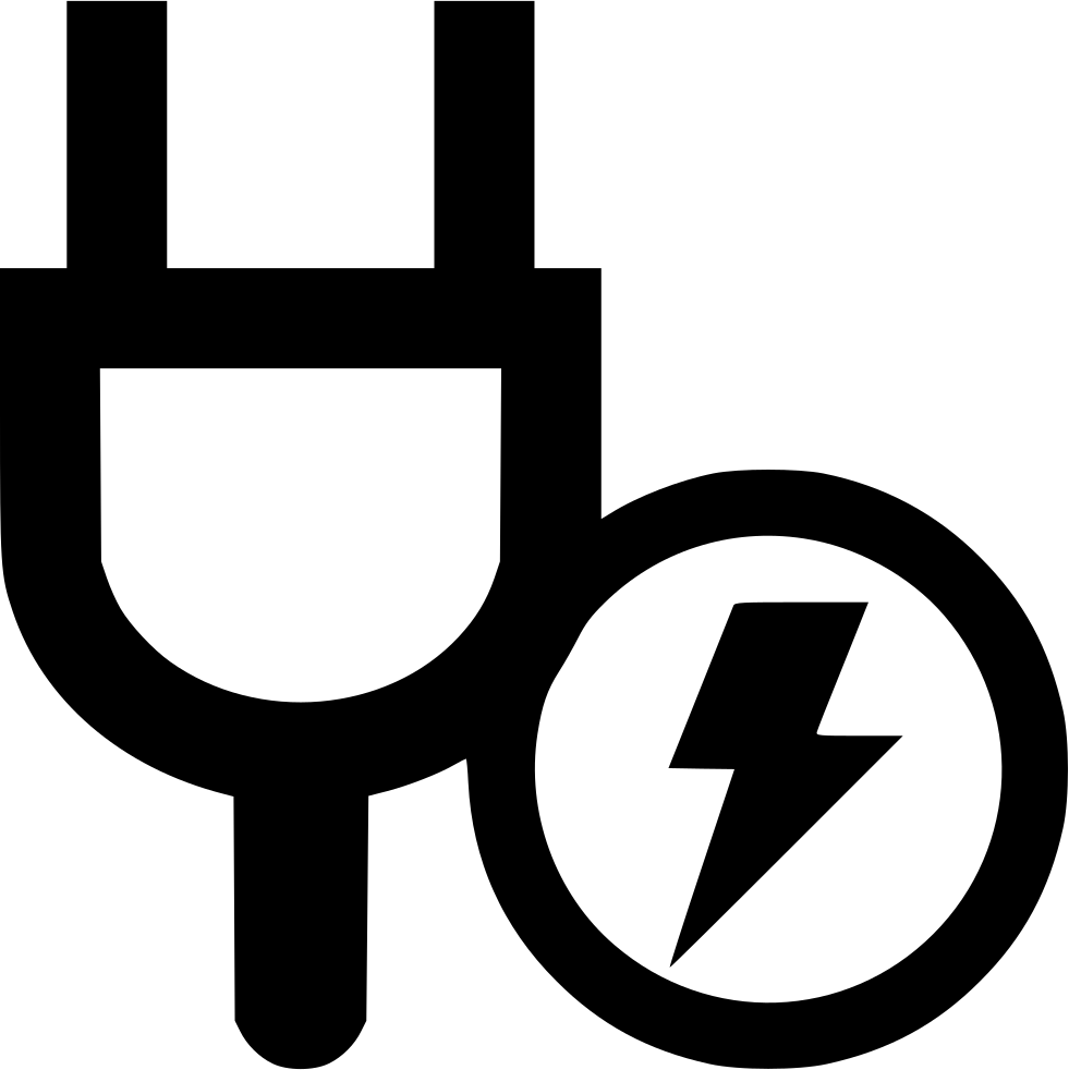 Electricity clipart svg. Power charge full png