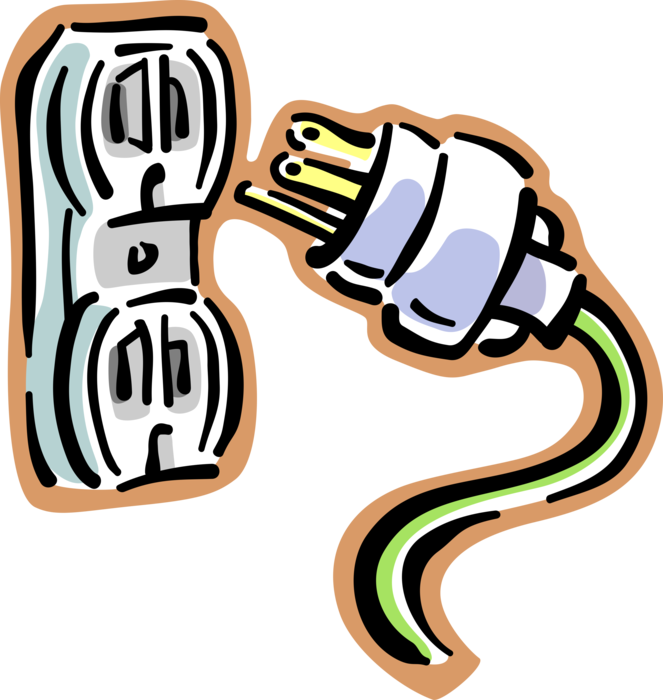 Electricity clipart volt.  electrical plug socket