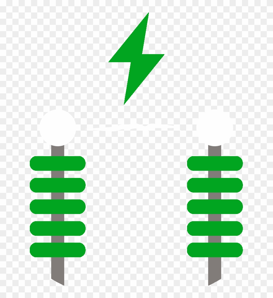 High and medium transmission. Electricity clipart voltage