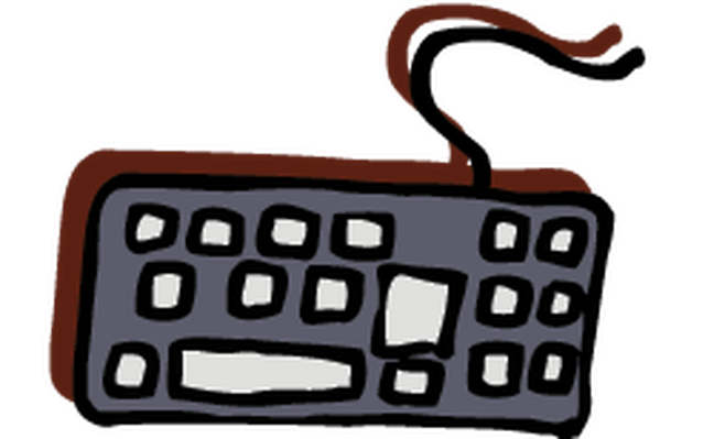 Electronics - Computer Keyboard | Clipart | The Arts | Image | PBS ...