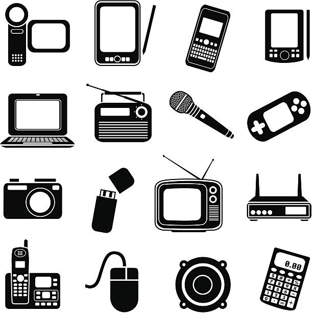 Electronics clipart.  collection of electronic