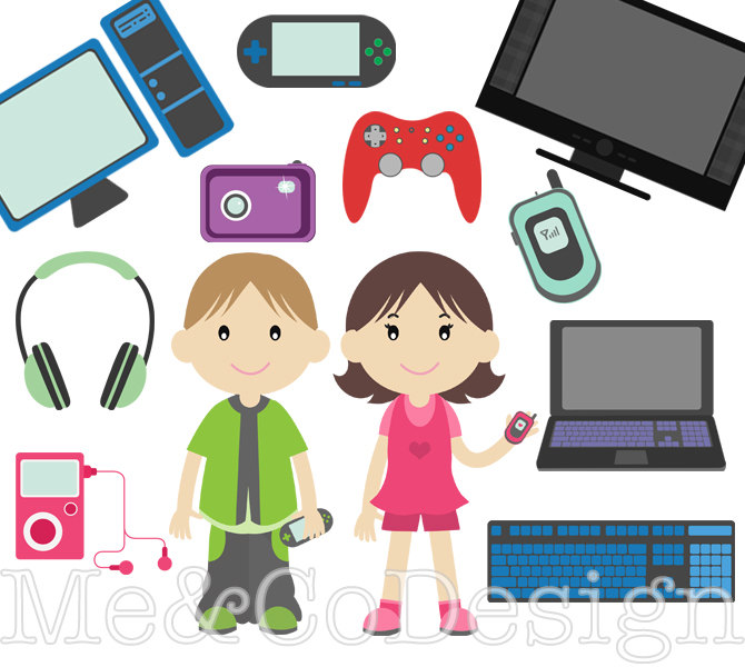 kids-electronics-clipart-6 - St Pius X Catholic Preparatory School ...