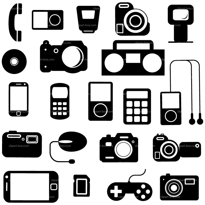 . Electronics clipart