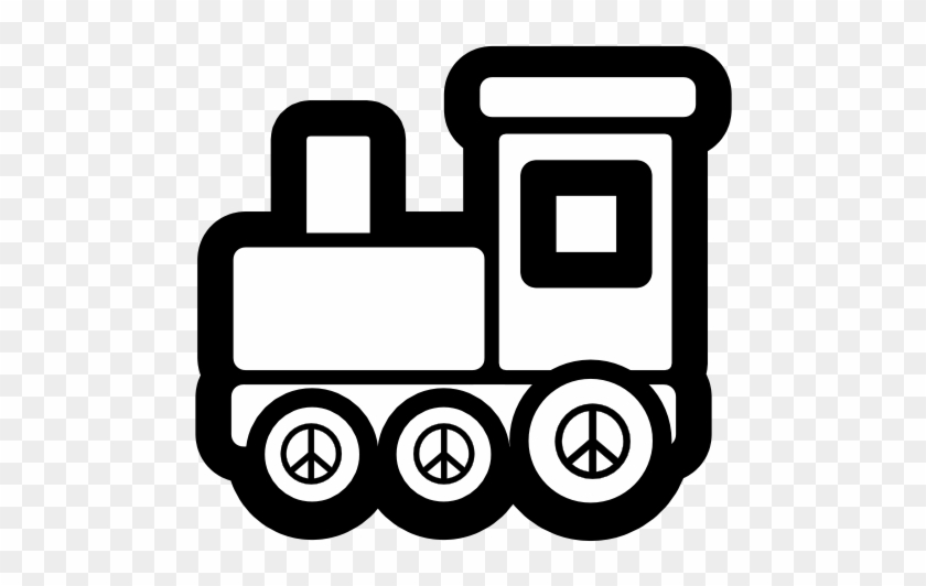 Electronics clipart black and white. Toy train icon christmas