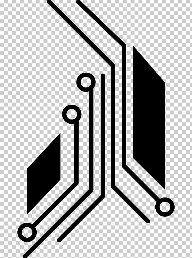 Electronics clipart black and white. Electronic circuit printed board