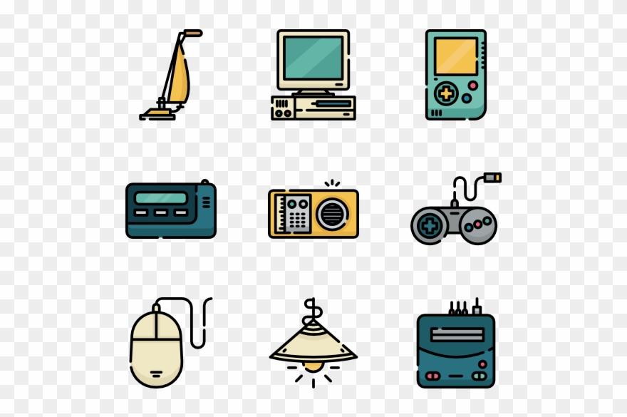 Retro pinclipart . Electronics clipart clip art