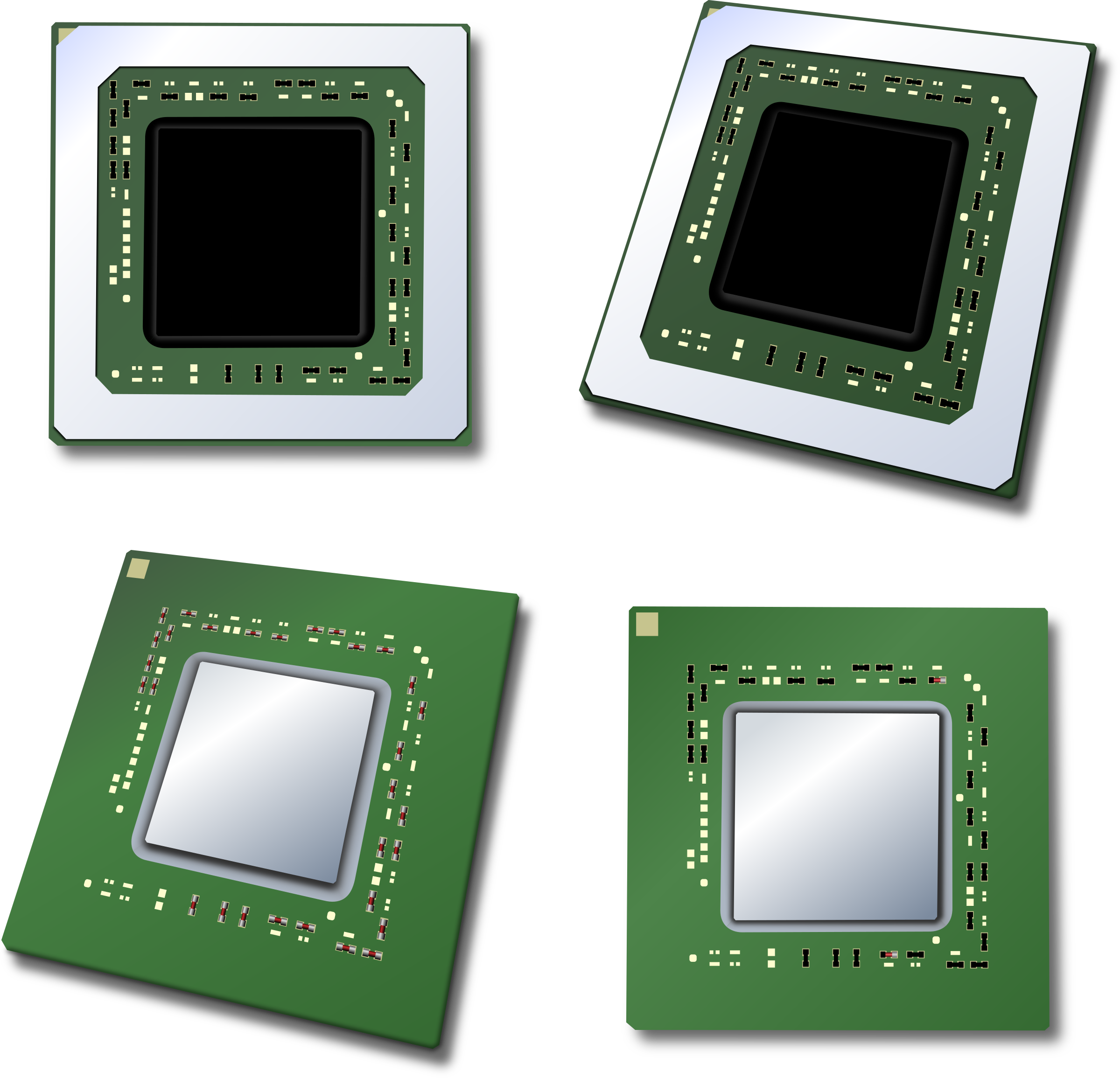 Cpu central processing unit. Electronics clipart computer chip