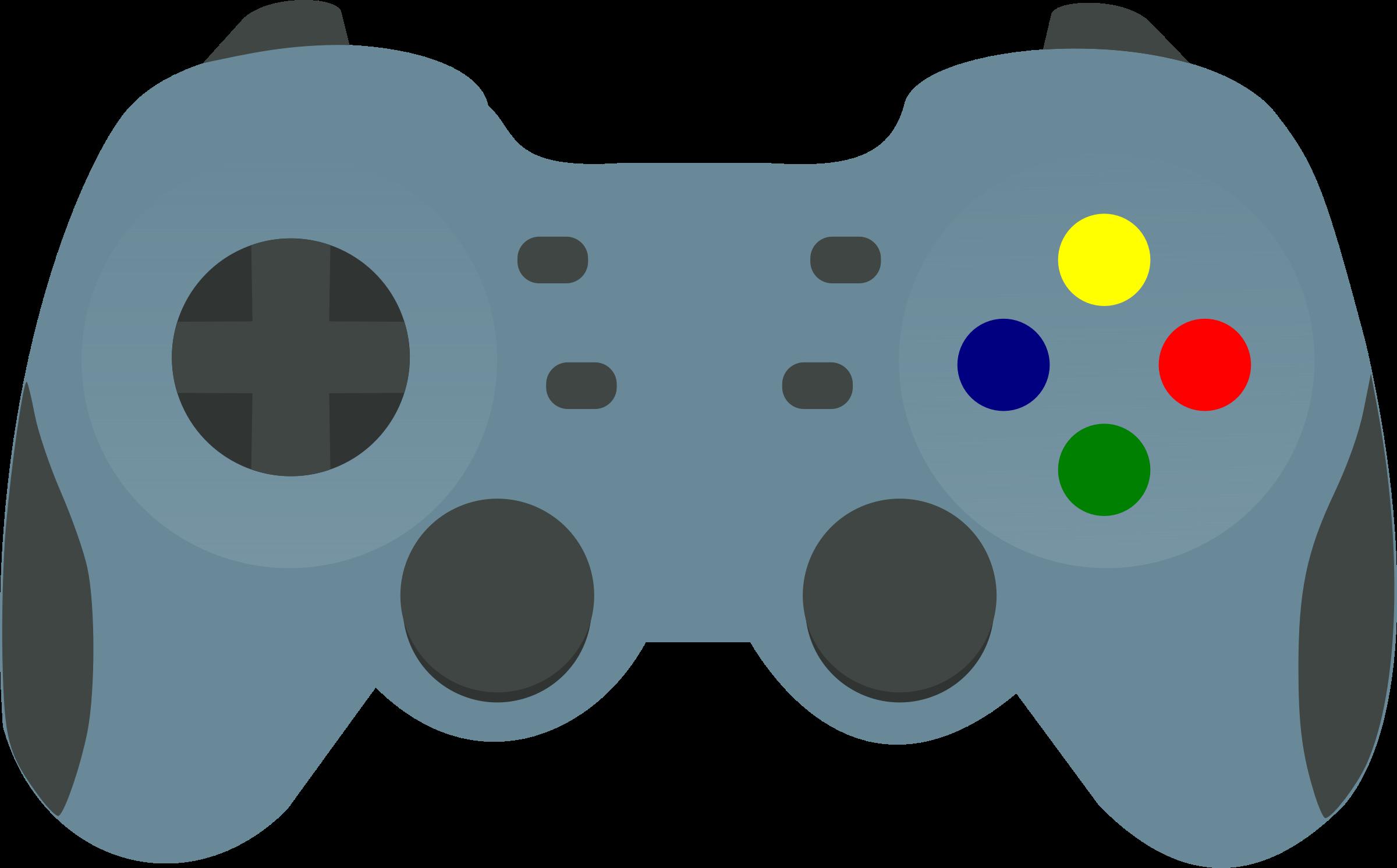 Gamepad big image png. Electronics clipart controller