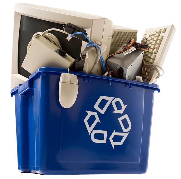 Joliet adds recycling option. Electronics clipart disposal