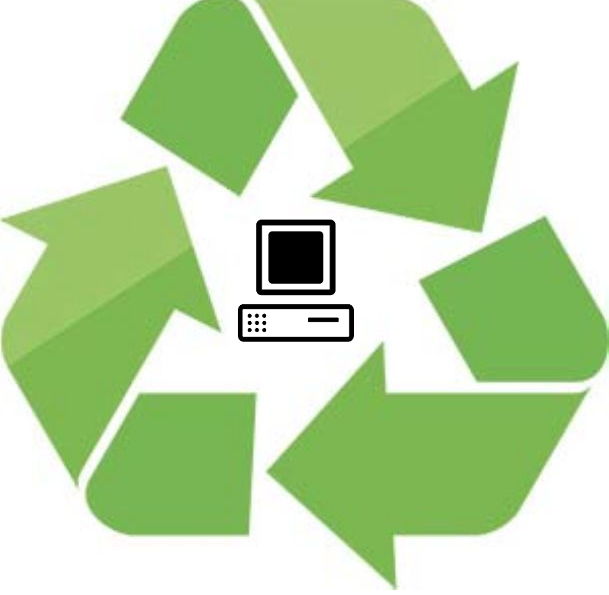 Electronics clipart e waste. Triangle recycling your local