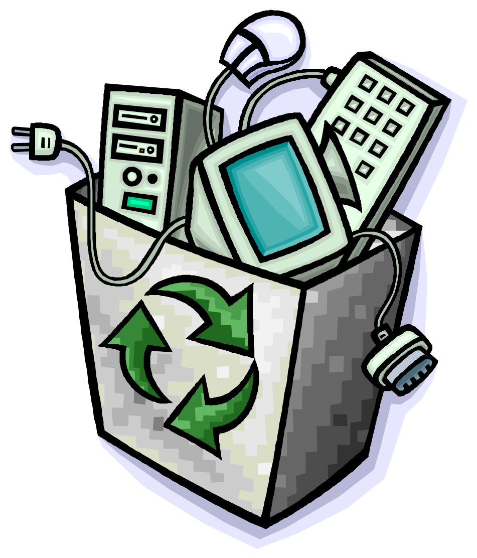 Electronics clipart e waste. New options for disposing