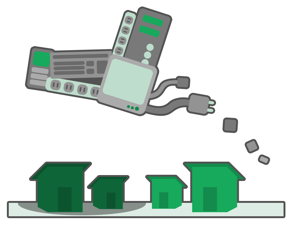 Who gets stepped on. Electronics clipart e waste