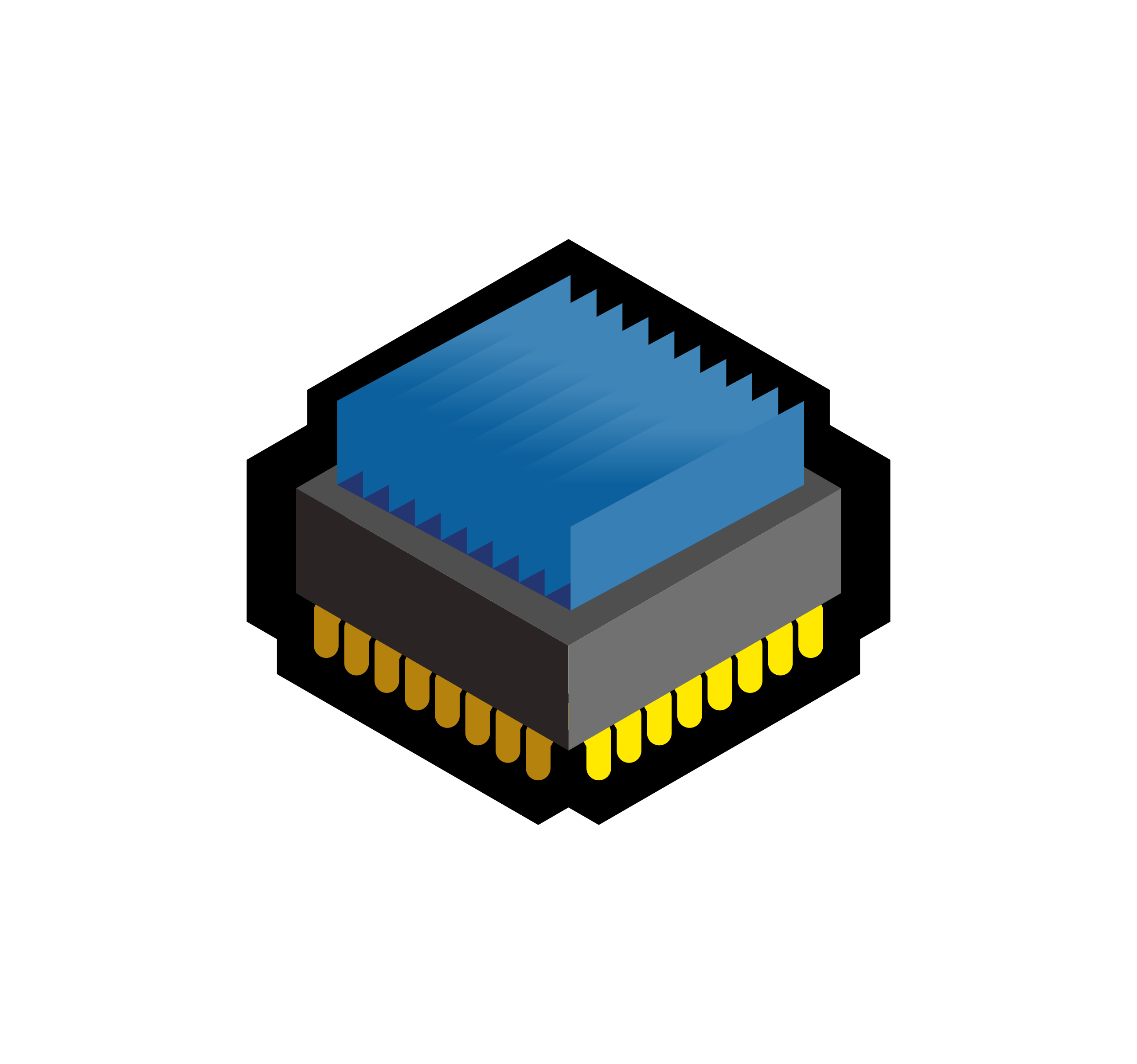 Cpu big image png. Electronics clipart electronic component
