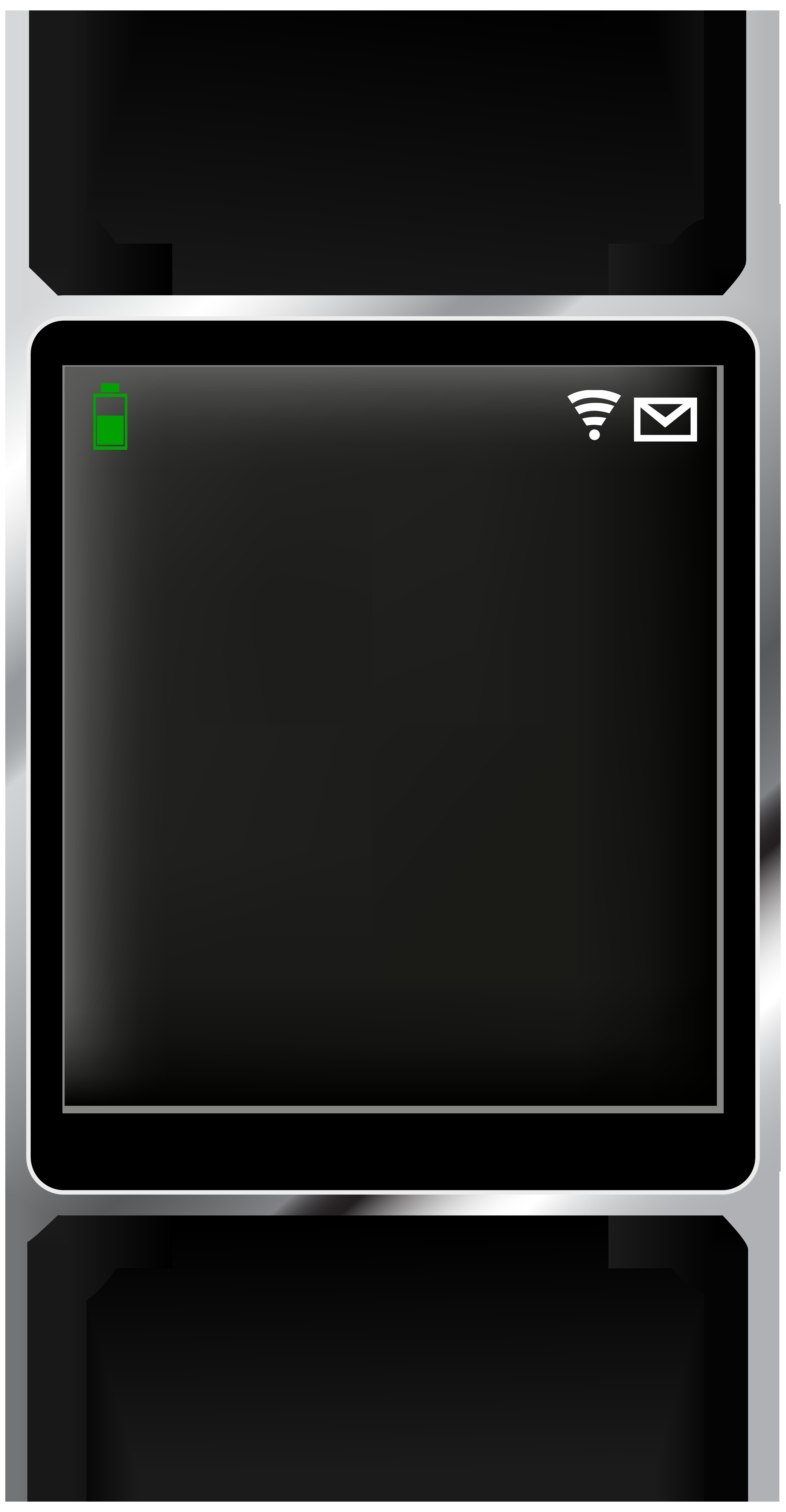 Smartwatch transparent png clip. Electronics clipart electronic gadget
