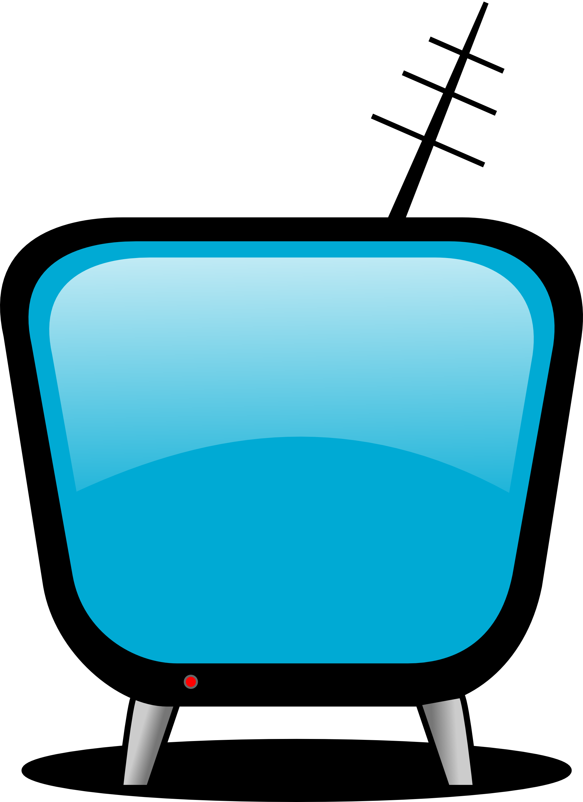 Tv clip art free. Electronics clipart electronic media