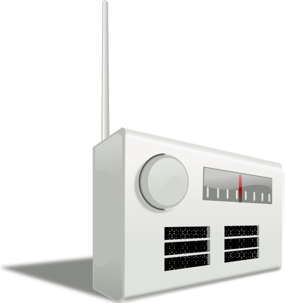 Old radio clip art. Electronics clipart electronic payment