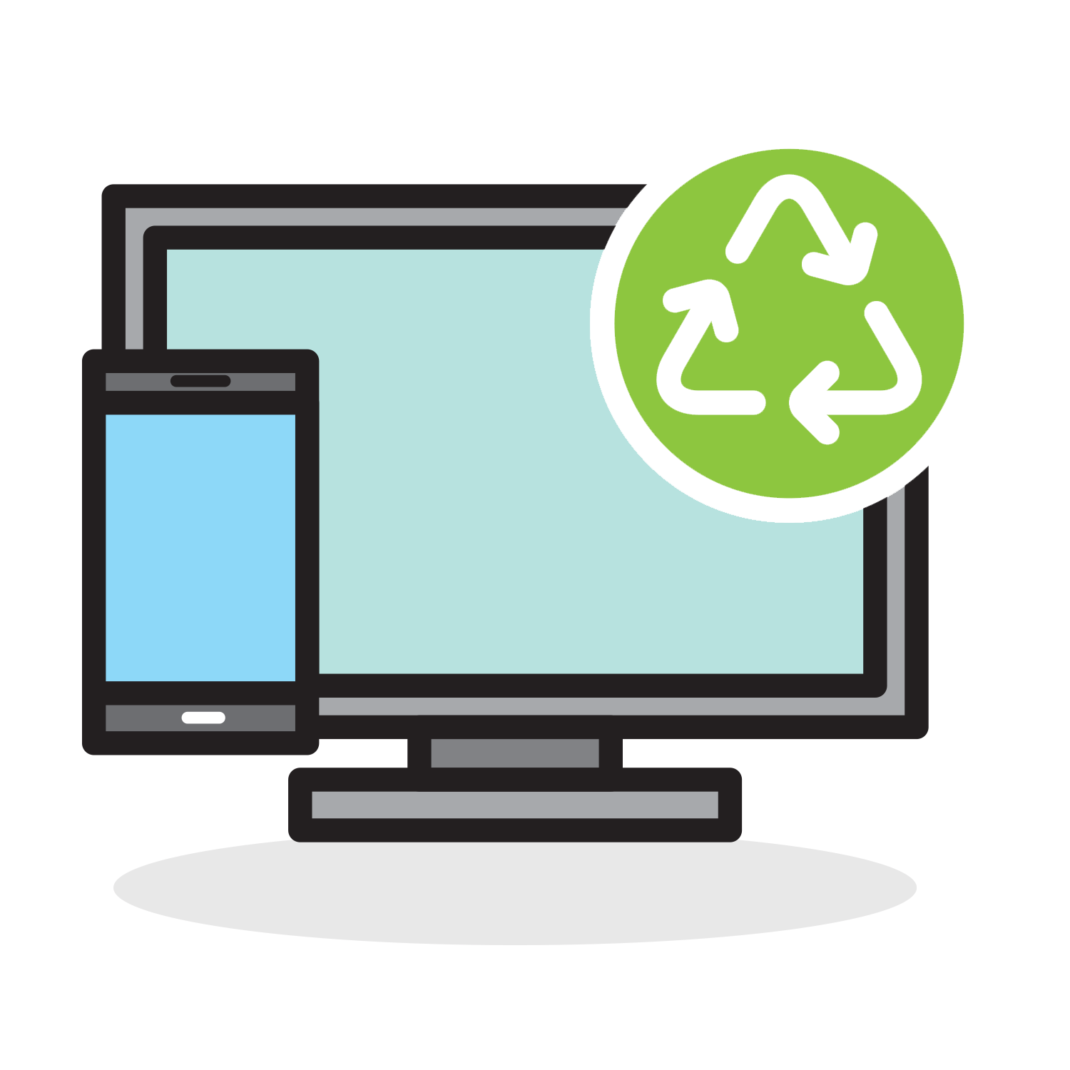 Marshall county solid waste. Electronics clipart electronic recycling