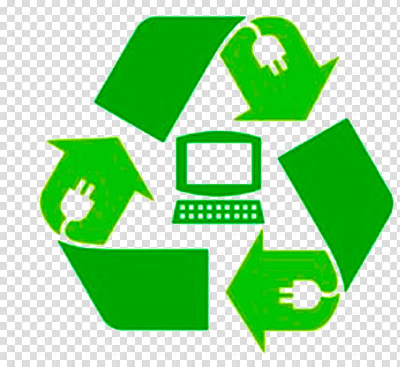 Computer waste recycle . Electronics clipart electronic recycling
