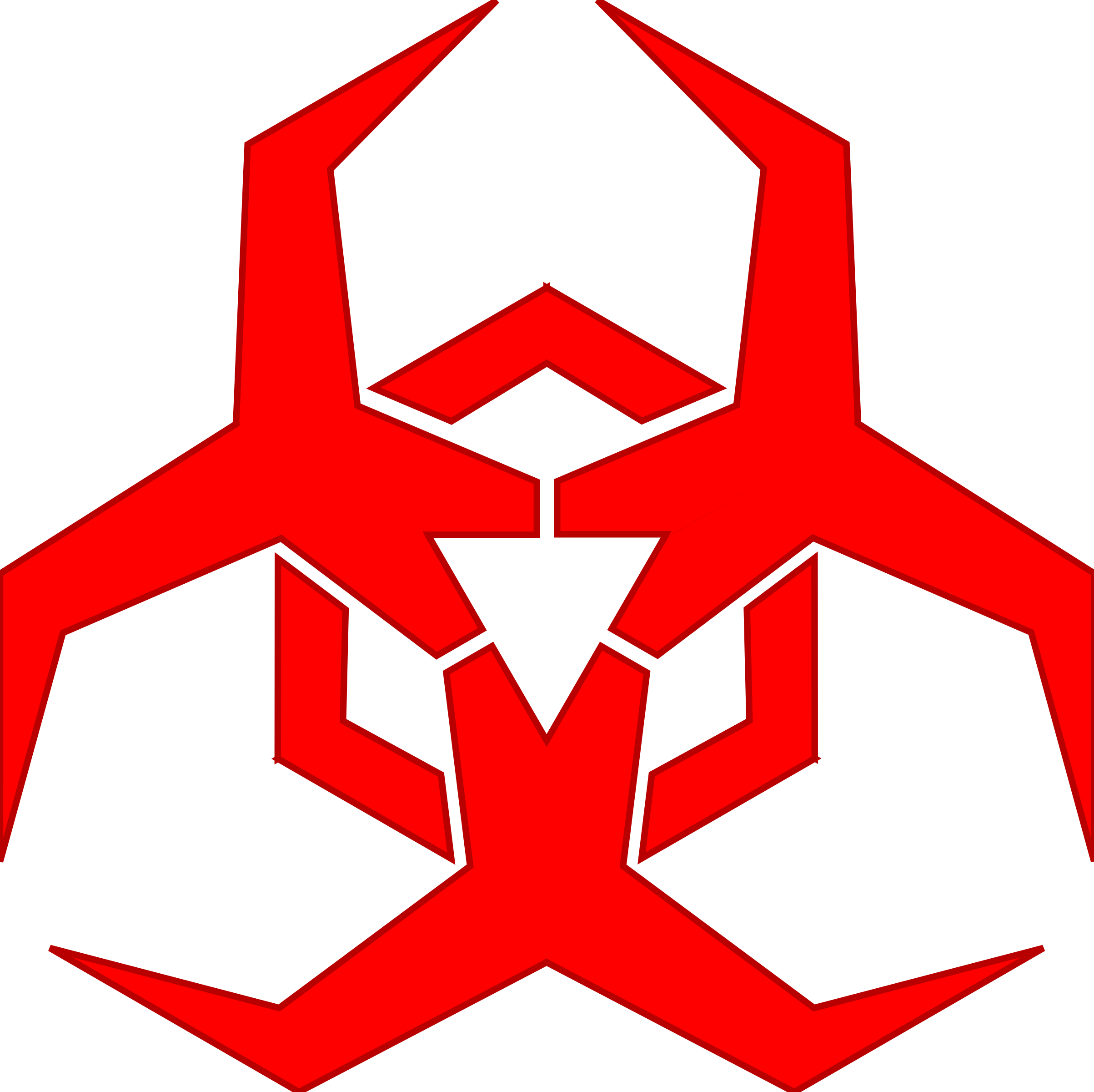 Malware hazard red by. Electronics clipart internet symbol