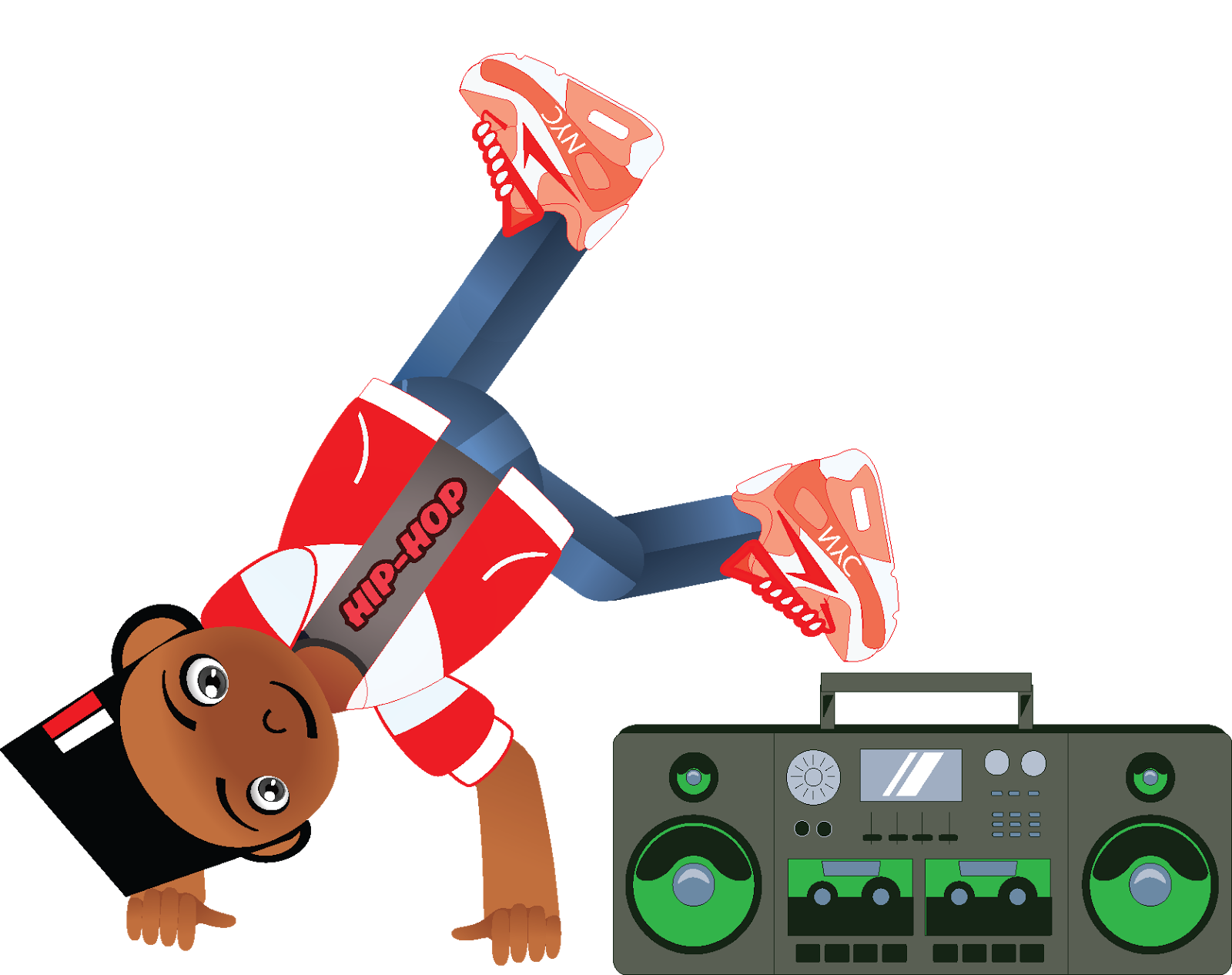 Hip hop b boy. Electronics clipart kid electronics