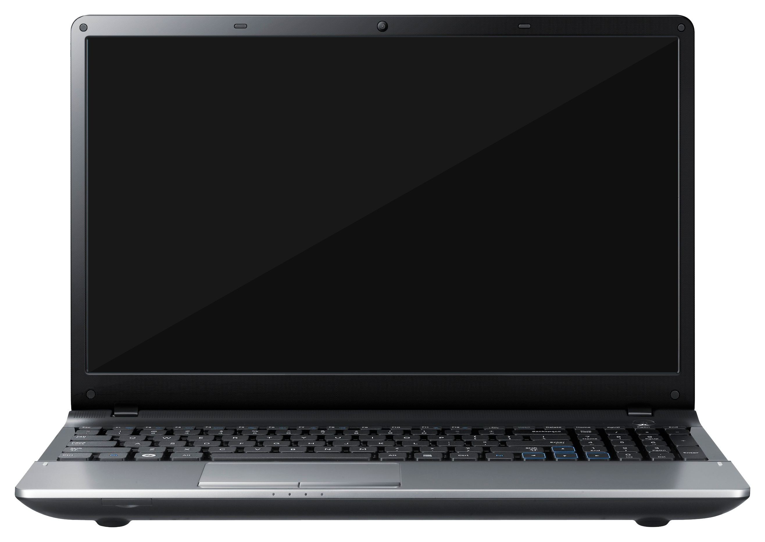 Electronics clipart laptop. Computer one isolated stock