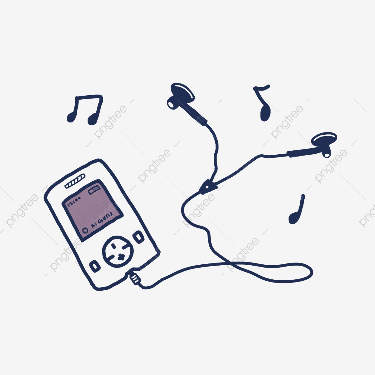 Music clipart music player. Electronic product headset headphone