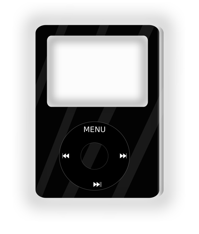 Electronics clipart music thing. Player medium image png