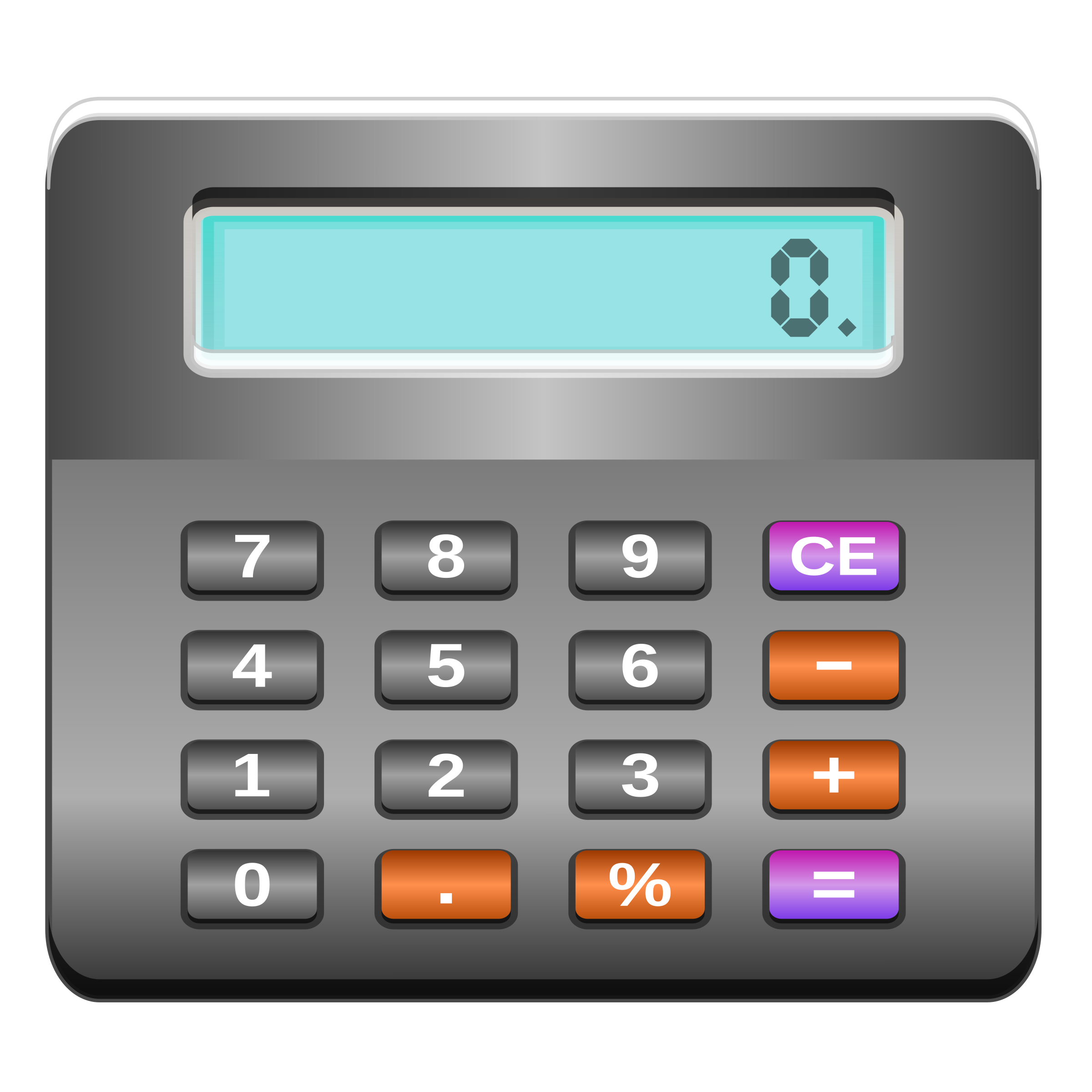 Electronics clipart office equipments. Calculator