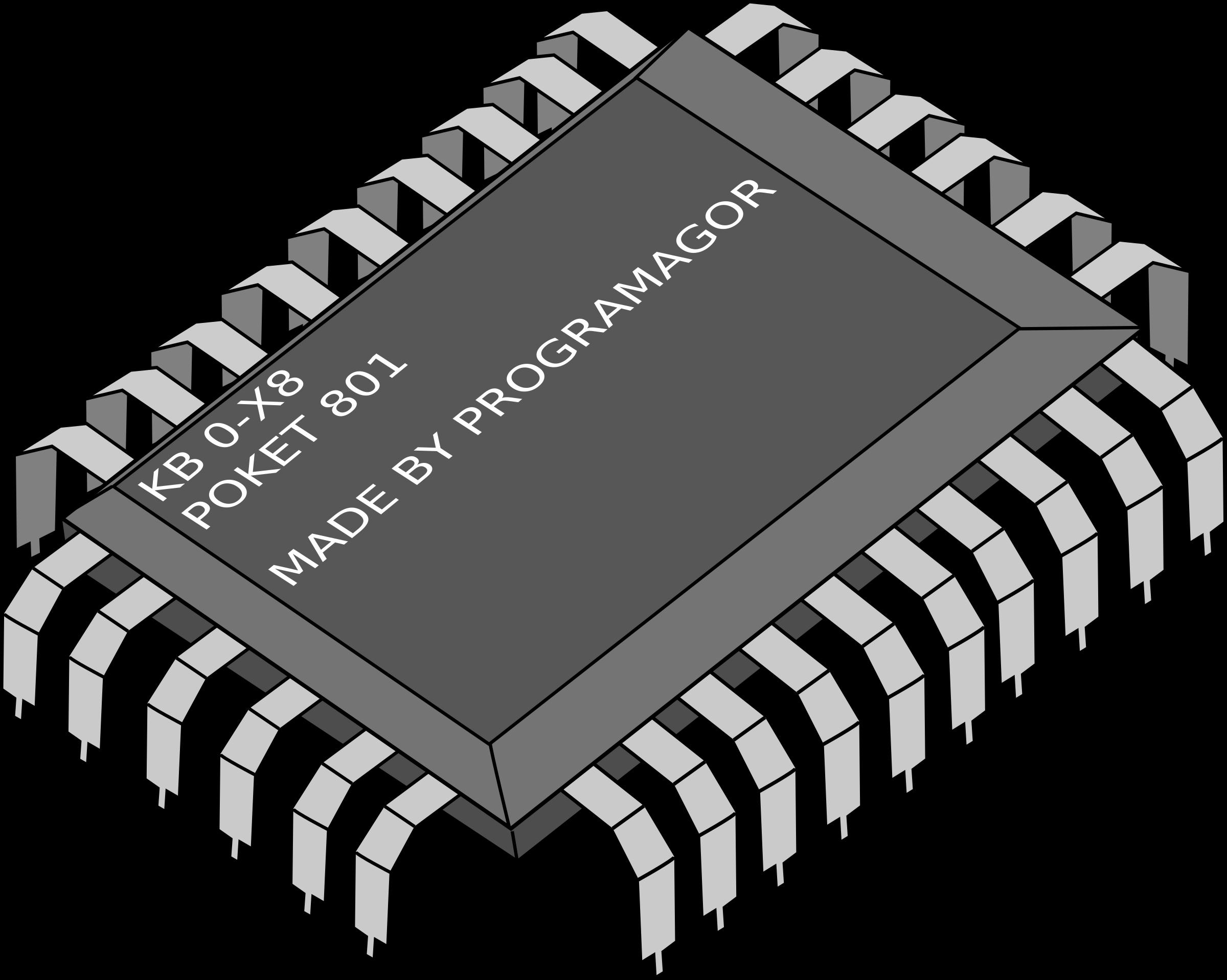 Electronics clipart tech. Chip